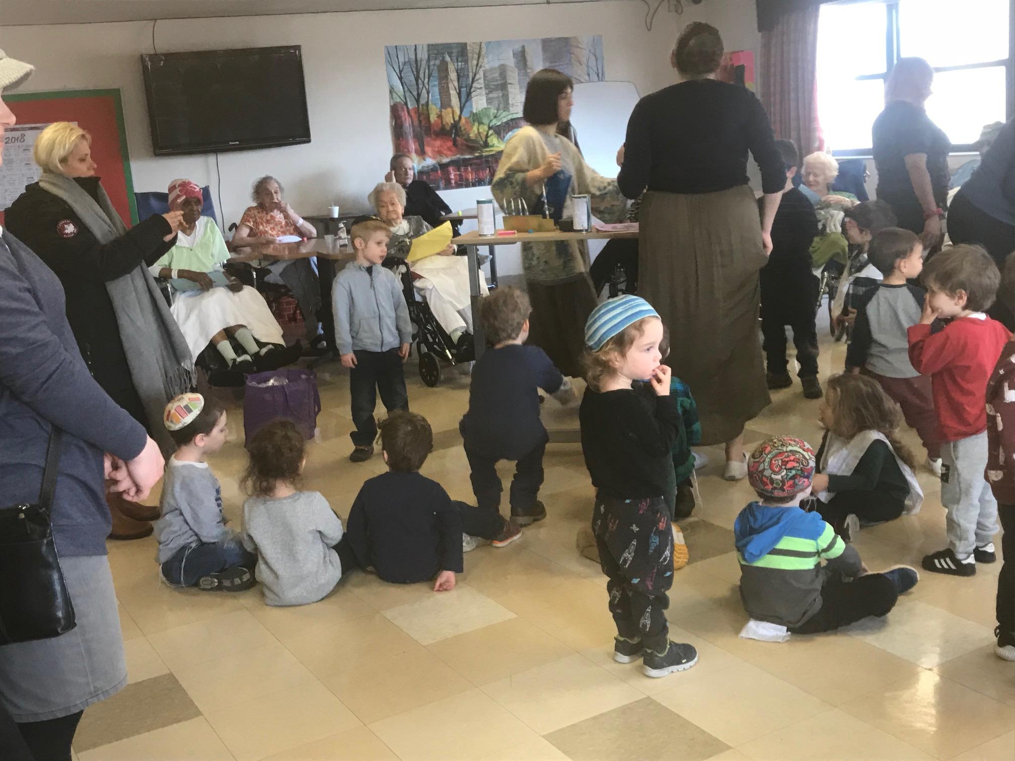 Celebrating Hanukkah at Fort Tryon
