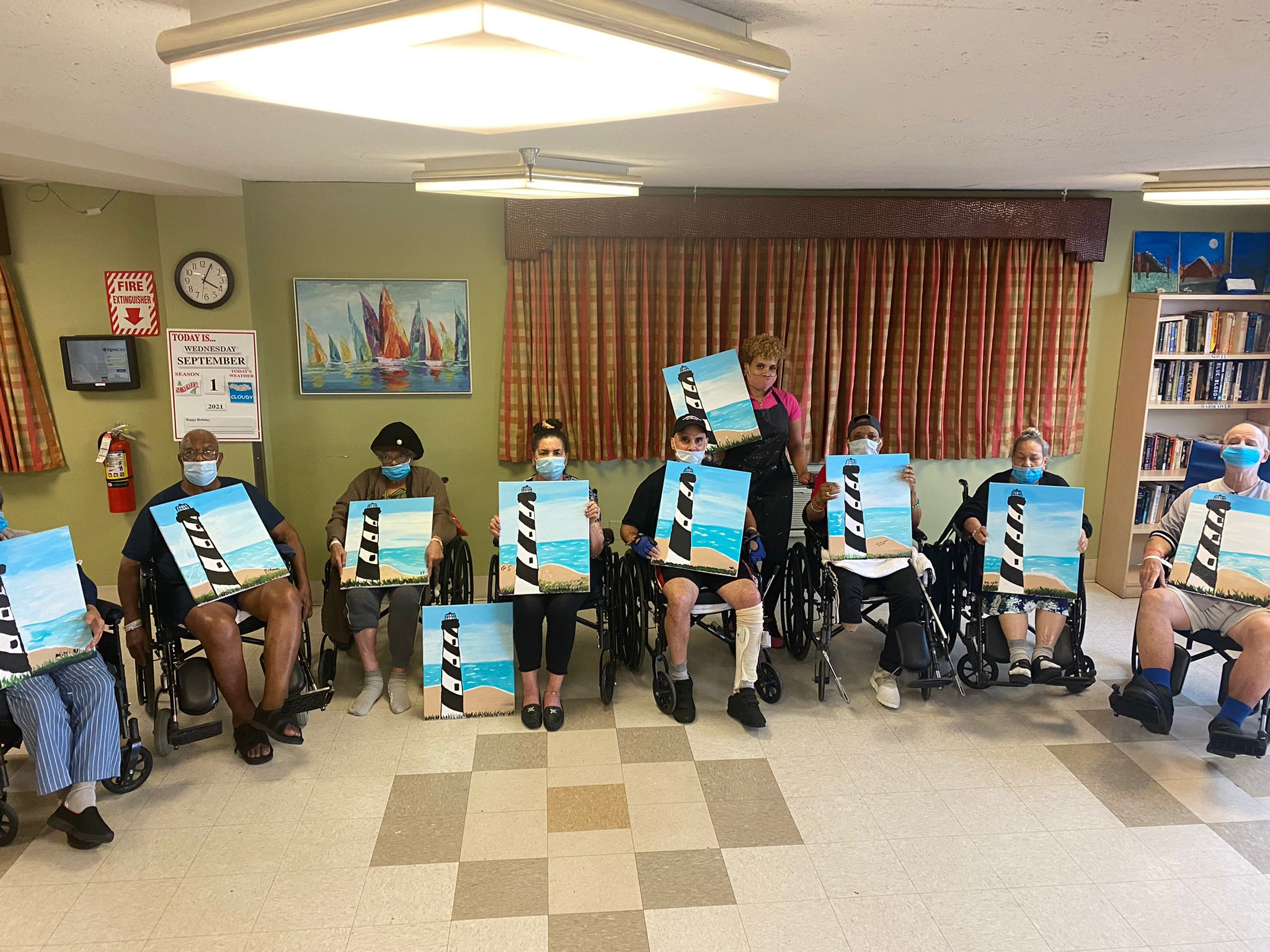 Paint N Sip At Fort Tryon